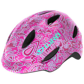 Giro Scamp Helmet Kids pink flower land